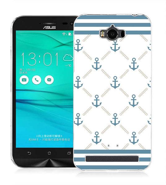 ♥ 俏魔女美人館 ♥ (海軍標籤*硬殼} ASUS ZenFone Max (ZC550KL) 手機殼 手機套 保護套 保護殼
