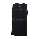 Nike 背心 Dri-FIT Men Training Tank 黑 白 男款 訓練 運動休閒【ACS】 AR6070-010