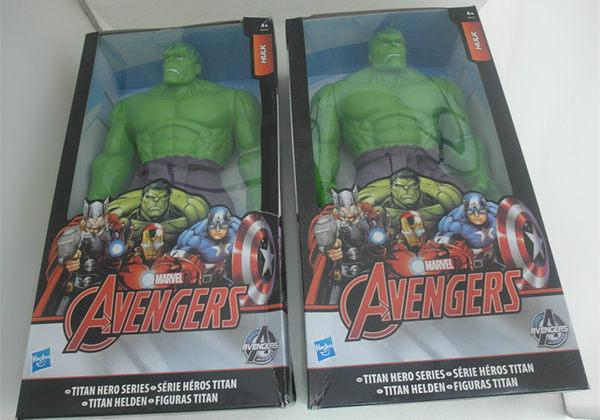 *妮好快樂*漫威英雄人物復仇者聯盟12吋公仔玩具/模型/擺件-綠巨人浩克
