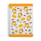 《Sanrio》HELLO KITTY變裝小雞系列B6線圈筆記本(滿版圖案)_RD00547
