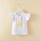 短袖女童裝夏款短袖T恤兒童寶寶純棉飛袖娃娃衫中童上衣新品韓版上衣