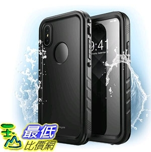 [7美國直購] 防水 保護殼 Clayco iPhone XS Max Omni Waterproof Case with Screen Protector