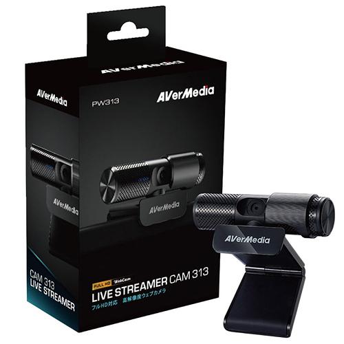 【限時至0930】 AVerMedia 圓剛 Live Streamer CAM PW313 高畫質網路攝影機