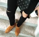 找到自己 訂製款 聖羅蘭 風格破褲 大破洞 穿搭 破褲 窄版
