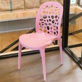 【IDEA】幾何圓形休閒椅 吧檯椅 酒吧椅 塑膠椅 餐廳椅 餐椅 高腳椅 高腳凳 沙發【RA-009】五色