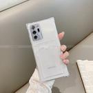 三星 S21 FE 手機殼 透明矽膠軟殼 S21+ S21 ultra四角氣墊 防摔 插卡 手機套 保護殼 卡包 保護套