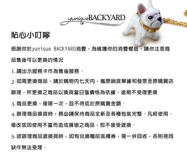 yunique Backyard  白兔月亮兔戒指