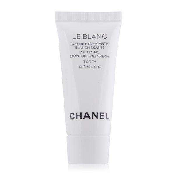 (即期良品)CHANEL 香奈兒珍珠光感TXC美白保濕乳霜-輕盈版(5ml) -期效201903【美麗購】