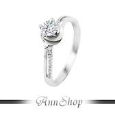 AnnShop【925純銀‧幸福捧花.鋯石/鑽石純銀戒指】可客製化鑽石珠寶銀飾禮品 ZR507