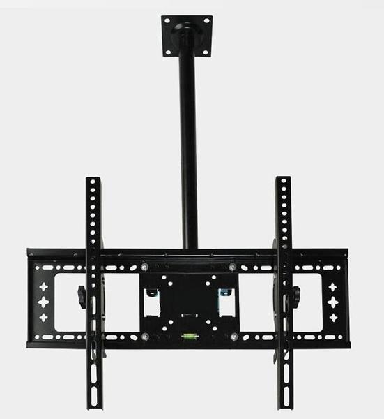 電視機架子掛墻通用萬能旋轉伸縮壁掛吊架吊頂架懸空側裝天花支架 歐韓