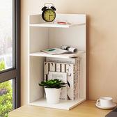 新年鉅惠 書架簡易桌上架子置物架簡約現代格架臥室收納架簡易儲物架xw