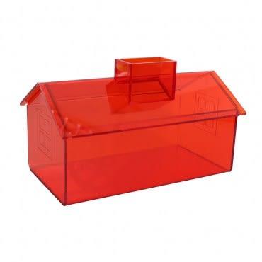 Lovel 加拿大設計經典家飾 面紙盒/紙巾盒(陽光橘)