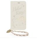 88柑仔店-GARMMA Hello Kitty iPhone 7/6S/6 4.7吋側掀式摺疊皮套