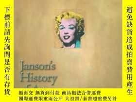 二手書博民逛書店Janson s罕見History Of Art: Wester