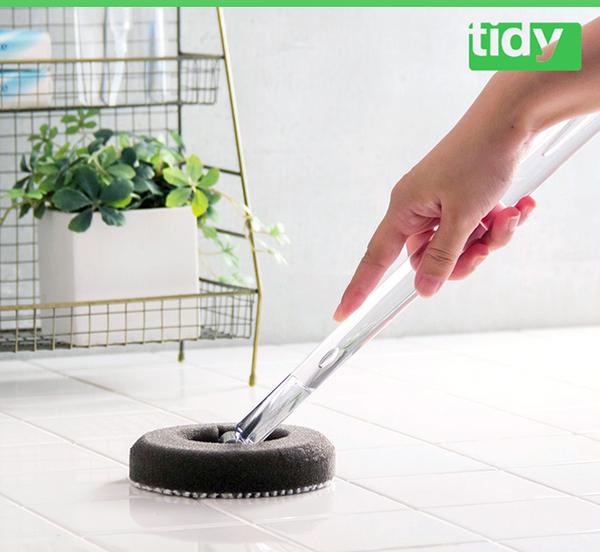 日本tidy萬用去汙刷(長柄) 浴缸污垢清潔
