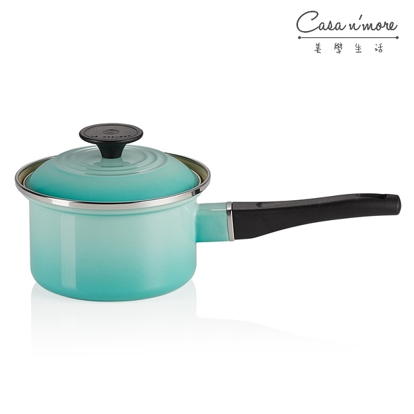 Le Creuset 琺瑯醬汁鍋 琺瑯鍋 湯鍋 牛奶鍋 薄荷綠 14cm
