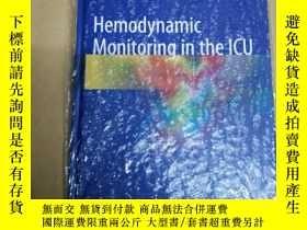 二手書博民逛書店Hemodynamic罕見Monitoring in the I