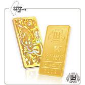 黃金條塊-馬年壹台兩-37.5g【煌隆】(重10.00錢)