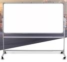 白板支架式行動家用兒童立式教學培訓會議磁性黑板掛式白班寫字板小黑板墻貼版  ATF  魔法鞋櫃