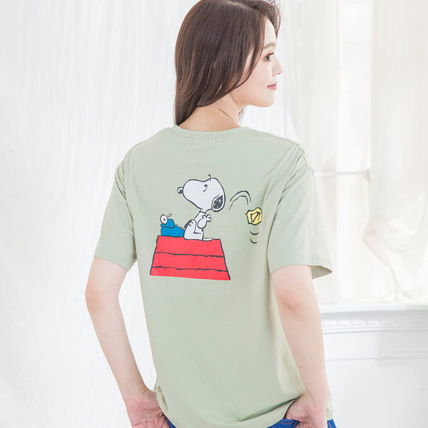 悠閒狗狗棉質T-shirt(4色)