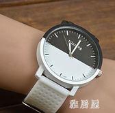 情侶手錶森系復古手表韓版簡約藝術皮帶潮流大盤個性七夕禮物 JY5559【雅居屋】