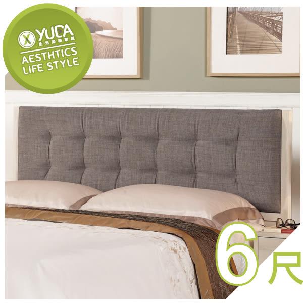 床頭片【YUDA】愛莎 6尺 床頭片/床片 J8M 067-3