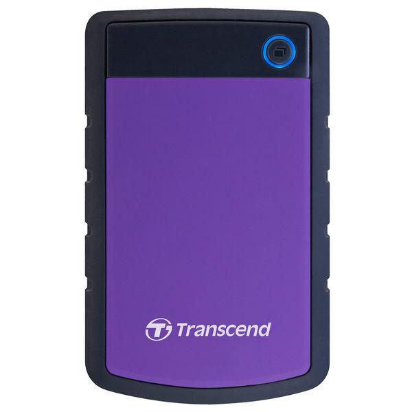創見25H3P 4TB USB3.0 2.5吋行動硬碟(紫色)