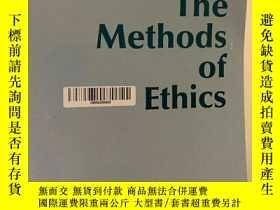 二手書博民逛書店The罕見Methods of Ethics. Seventh