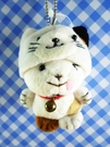 【震撼精品百貨】日本日式精品_熊_Bear~變身絨毛娃娃-熊變貓
