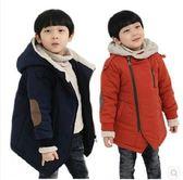 兒童冬裝5女童棉襖6加厚7小男孩8冬天男童冬季加絨外套 熊熊物語