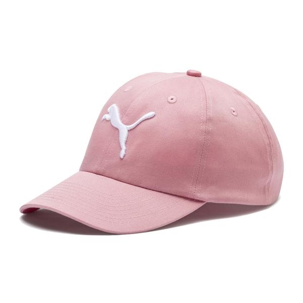 Puma 桃粉色 帽子 運動帽 老帽 遮陽帽 六分割帽 經典棒球帽 運動帽 02241605