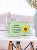 山水T1迷你卡通可愛少女心禮物隨身無線藍牙音箱復古手機插卡小音響便攜式重低音