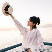 條紋襯衫女2018春季女裝