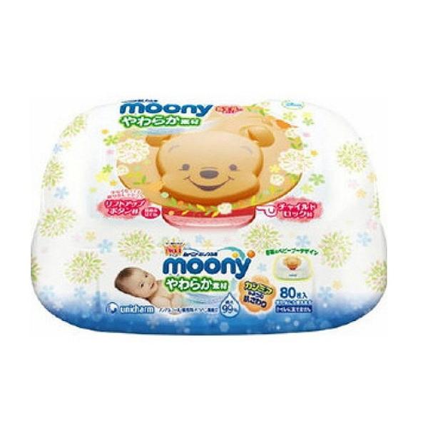 【震撼精品百貨】Winnie the Pooh 小熊維尼~小熊維尼 POOH 盒裝濕紙巾(80枚) 日本製