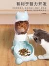 招財貓款狗狗自動喂食器智力按壓腳踏狗糧寵物投食器防噎泰迪狗碗 好樂匯