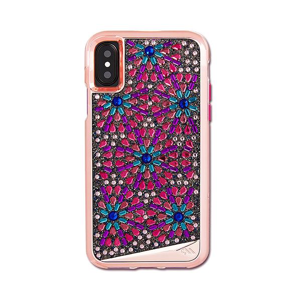 美國 Case-Mate iPhone X Brilliance Lace 璀璨珍珠蕾絲雙層防摔手機保護殼