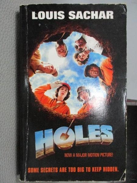 【書寶二手書T2/原文小說_MOT】HOLES_Louis Sachar