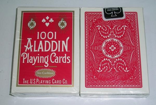 【USPCC撲克館】阿拉丁ALADDIN(1001)撲克牌air cushion 布紋