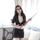 性感女教師制服包臀秘書短裙OL緊身套裝夜店職業主播內衣透視雪紡