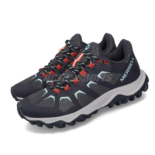 Merrell 戶外鞋 Fiery 藍 灰 女鞋 運動鞋 【PUMP306】 ML16588