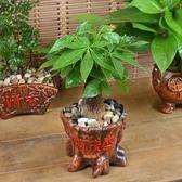 發財樹盆栽花卉梔子花植物綠蘿富貴竹文竹客廳辦公室內綠植小盆景T 情人節禮物