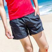 海邊度假休閒運動三分短褲沙灘褲男士速干四角泳褲溫泉寬松大碼 【格林世家】