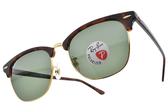 RayBan 偏光太陽眼鏡 RB3016F 99058 (琥珀棕金-綠鏡片) 人氣經典款 墨鏡 #眼鏡品牌 #金橘眼鏡