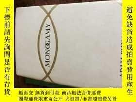 二手書博民逛書店Monogamy罕見by Adam Phillips 1997
