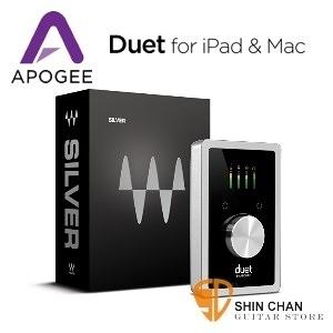Apogee Duet 2 頂級錄音界面 Duet for iPad,iPhone&Mac 行動錄音室(公司貨)Duet2