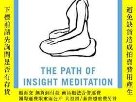 二手書博民逛書店The罕見Path of Insight Meditation (Shambhala Pocket Library