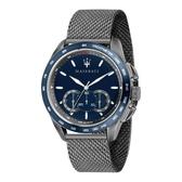 【MASERATI TIME】瑪莎拉蒂 TRAGUARDO 時尚三眼計時腕錶 R8873612009