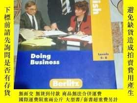 二手書博民逛書店美國原版進口罕見English Doing Business B