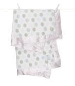 頂級 冬季首選 嬰兒被 Little Giraffe 美國 頂級攜帶毯 - 豪華彩色點點嬰兒毯(粉紅款)  LXDBKTPK