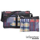 LeSportsac - Standard 雙口袋斜背包-附化妝包 (格紋盛宴) 7519P E440